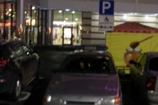 Полицейский ответил за неправильную парковку
