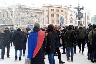 В казанских вузах обещают не отчислять студентов - участников акции в защиту Навального, но поинтересуются, кто ходил на «прогулку»