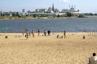 Спасатели призывают казанские власти возродить пляж у «Чаши»