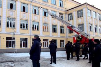 В казанской школе, где возник пожар, проводку не ремонтировали 80 лет?
