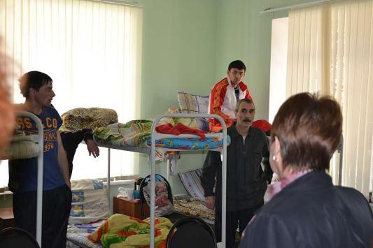 В мае этого года Центр посетила Уполномоченный по правам человека в РТ Сария Сабурская(фото upch.tatarstan.ru)