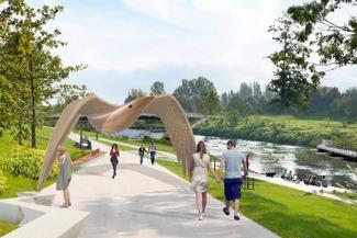 Нью-Васюки отдыхают: на каскад прудов в деревенском «парке Шаймиева» потратят 15 миллионов