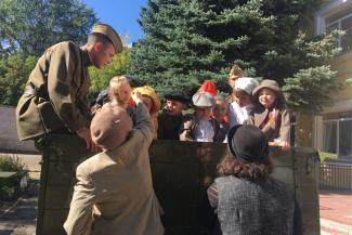 Плакали все: казанские детсадовцы сыграли в кино ленинградских блокадников