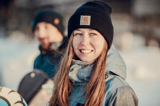 Казанским экстремалкам нужны для счастья снег и доска