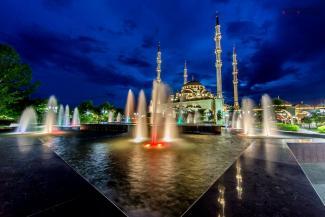 Мечеть в Грозном рассчитана на 10 тыс. прихожан Автор Yarichev Abdurakhman