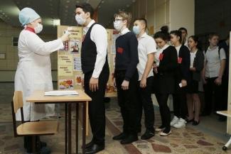 Простуженных пускать не велено: в детсадах и школах Татарстана выстраивают оборону против гриппа