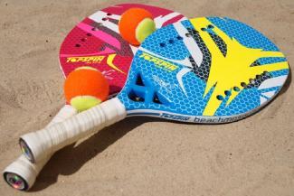 В Казани не пожалели денег и песка на пляжный теннис