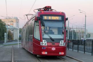 Трамвай «пятерочка» будет возить казанцев по самому длинному маршруту в России