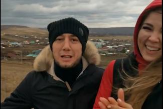 Звезды татарской эстрады шокировали поклонников, посмеявшись над трупом животного на дороге