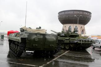 У «Чаши» танки грохотали: 30 августа в Казани устроят милитари-шоу