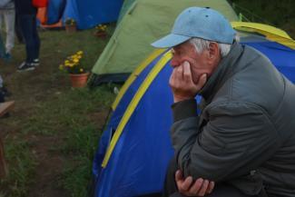 «Будем стоять, пока стройка не закипит»: казанских дольщиков ЖК «МЧС» вновь накормили обещаниями