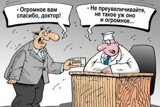 За борьбу с пандемией жители Татарстана простили врачам мелкие взятки