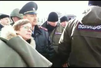 Лидеры протестующих клиентов ТФБ после задержания полицией: «В органах те, кто от капитана и ниже, нам сопереживают»