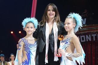 Екатерина и Элина с Полин Дюкре