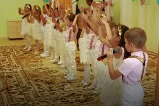 В Татарстане на показное открытие детского сада привезли подставных детей