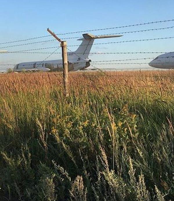 Под Казанью после предупреждения МЧС закрыли кладбище самолетов