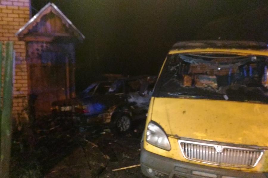 ВКазани ДТП обернулось пожаром вжилом доме