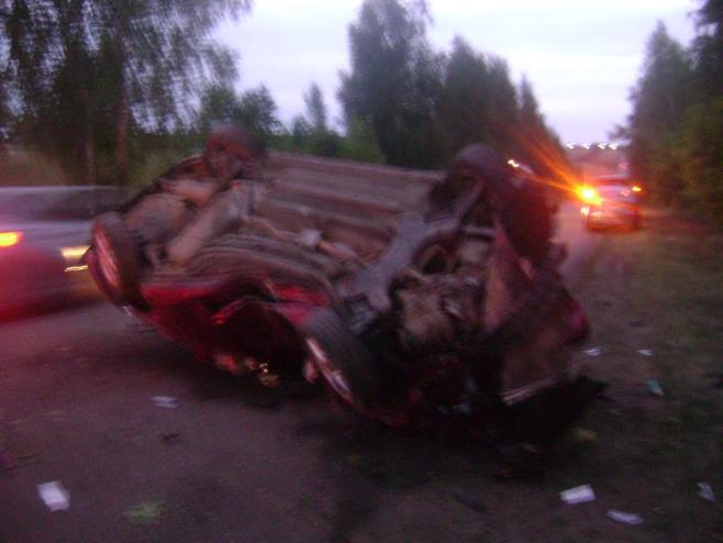 ВАльметьевском районе в итоге ДТП погибли два человека