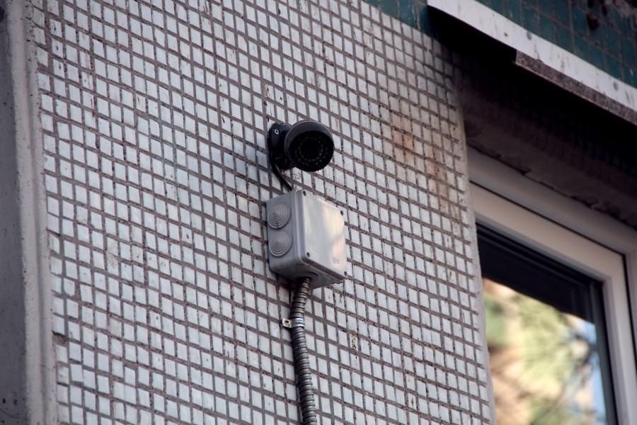 Уличная ip камера вариофокальная 2.8-12 мм