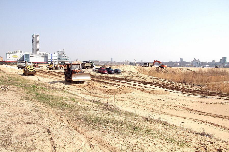 ВКазани началось строительство дороги для беспилотных микроавтобусов