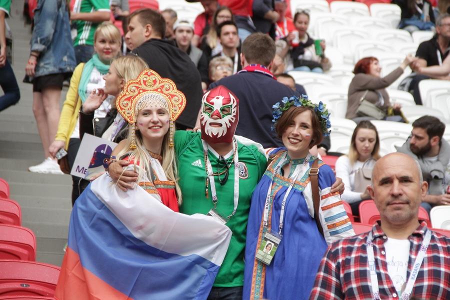 Мексика непустила РФ вполуфинал Кубка конфедераций