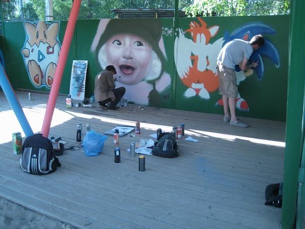 Казанские граффити художники