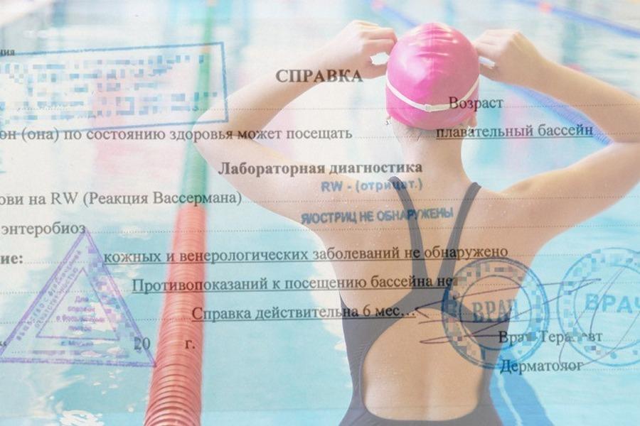 Москва Котловка справка в бассейн дешево
