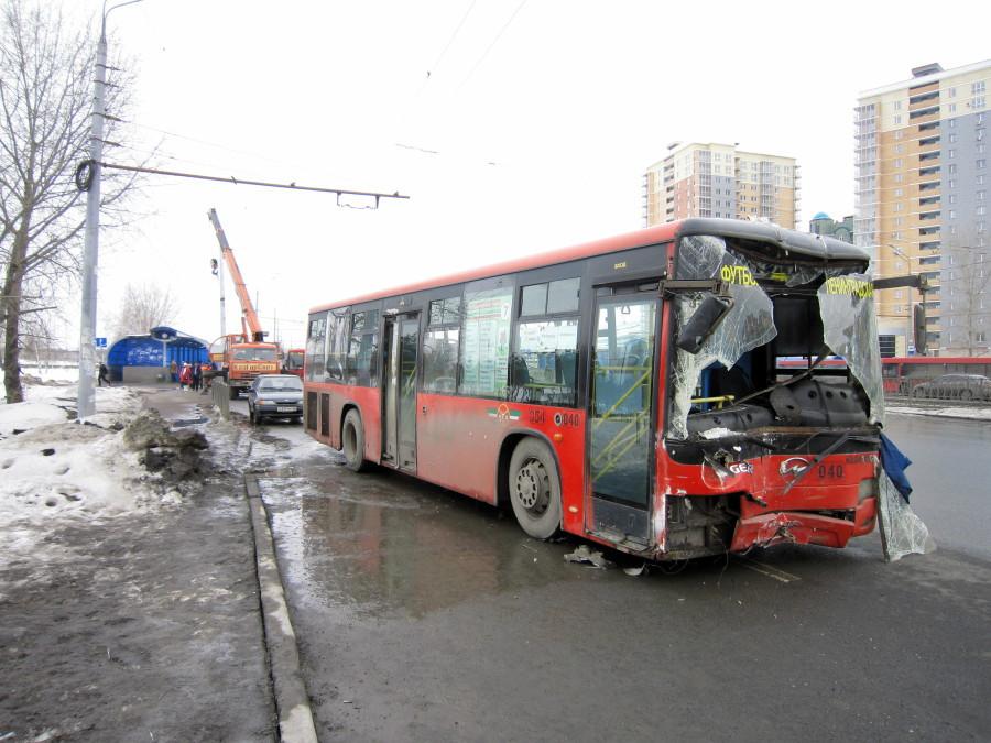 Вчера утром автобус 7-го