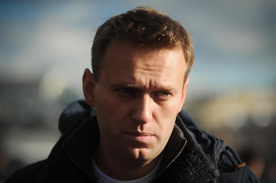 Алексей Навальный был задержан во время несанкционированной акции в Москве